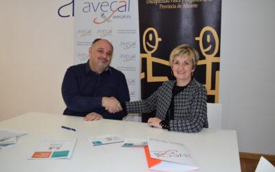 Avecal y Cocemfe se alían para impulsar la integración social y laboral de las personas con discapacidad