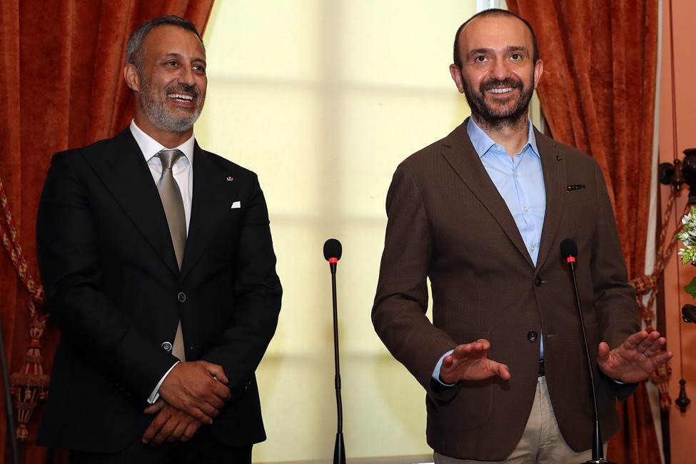 Luís Onofre asume la presidencia de la CEC