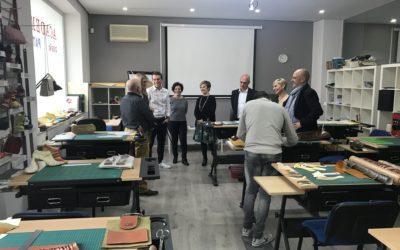 Avecal impulsa la creación del primer título de diseño y fabricación de marroquinería en la Comunidad Valenciana