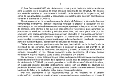 Nuevas medidas aprobadas por el Real Decreto-Ley 10/2020